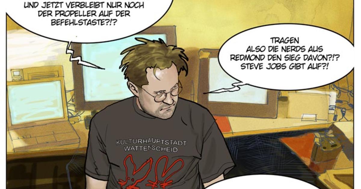 Die apfeltaste im spiegel comic mac life for Newsticker spiegel
