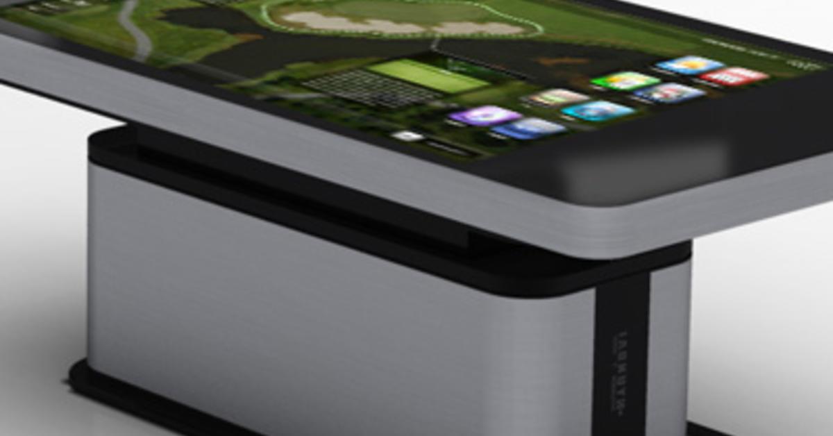 hyundai zeigt touchscreen tisch in iphone 4 aufmachung. Black Bedroom Furniture Sets. Home Design Ideas