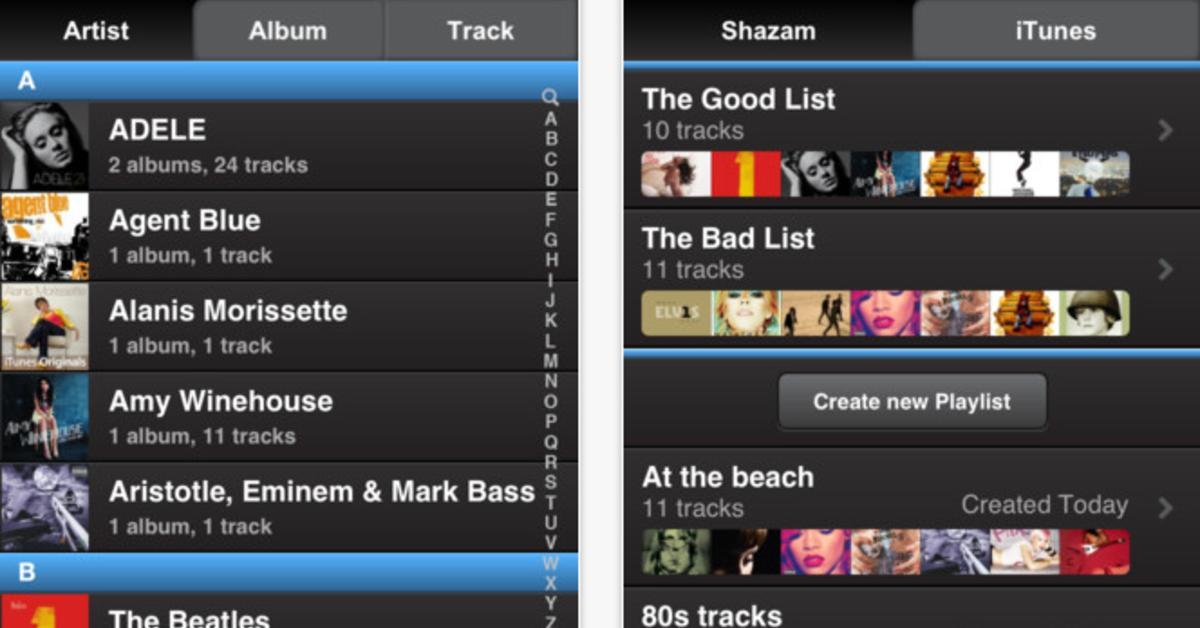 shazam player kostenlose alternative zur musik app mac life. Black Bedroom Furniture Sets. Home Design Ideas