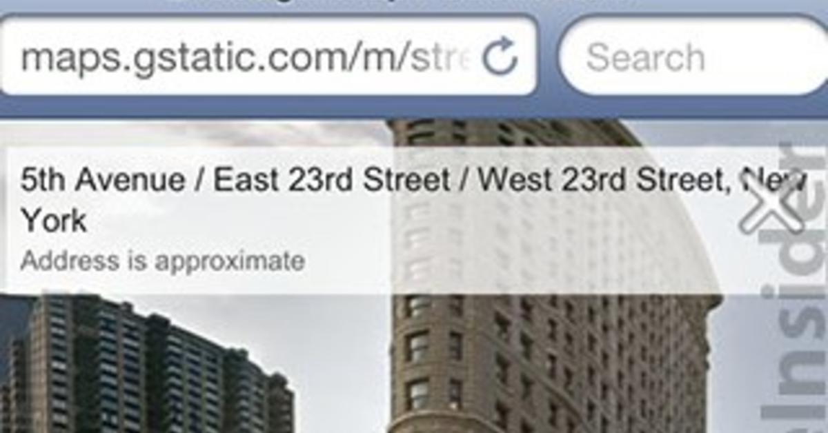 Google Street View Ist Ab Sofort Auch Fur Safari Unter Ios