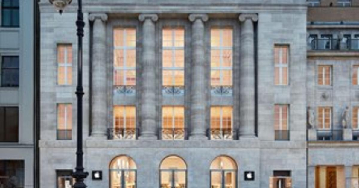 In Berlin: Das ist der schönste Apple Store in Deutschland