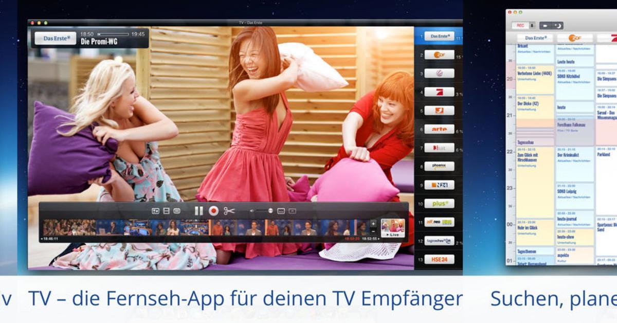 Neue Fernseh App