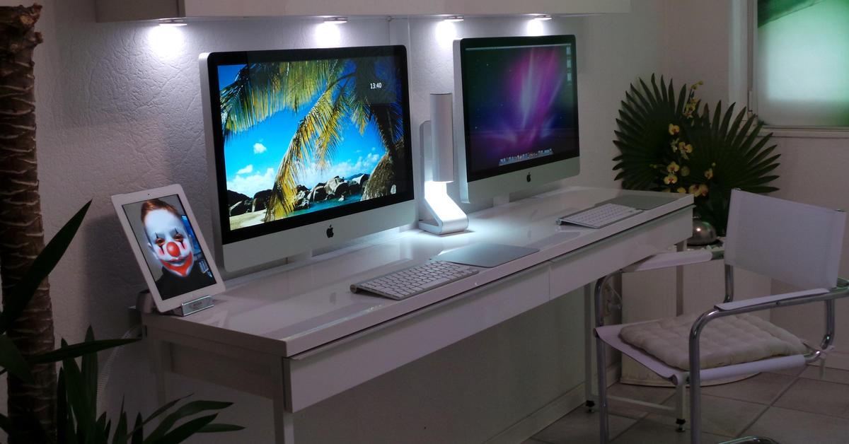 Workstation i mac life for Schreibtisch yosemite