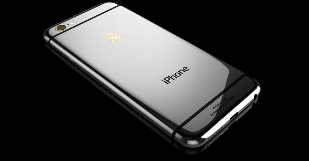 iphone 6 luxus edition von swarovski kostet so viel wie. Black Bedroom Furniture Sets. Home Design Ideas