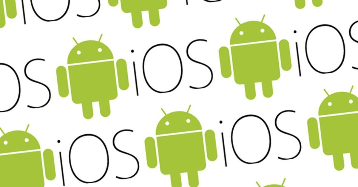 Der Krieg der Welten: Android versus iOS