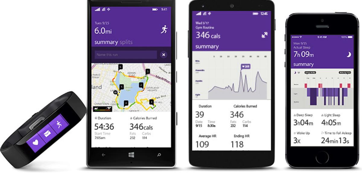 Microsoft stellt innovatives Fitness-Armband für iPhones, Android und Windows Phone vor