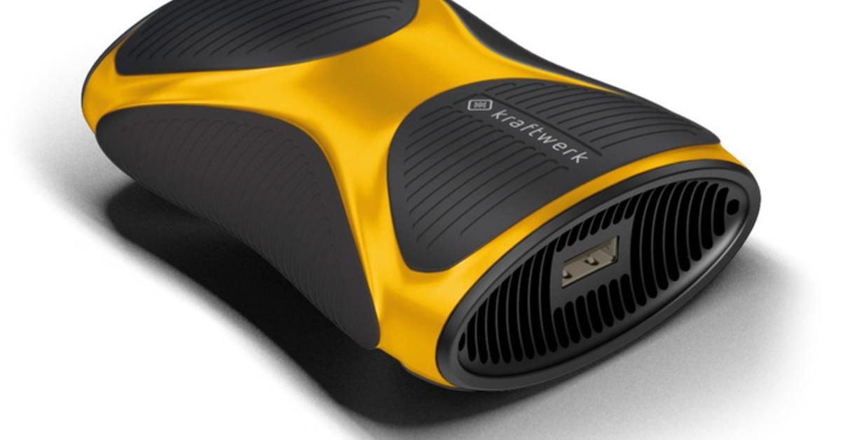 Kickstarter: kraftwerk - Akku-Pack über Feuerzeuggas laden und iOS-Gerät über Wochen ohne Steckdose nutzen