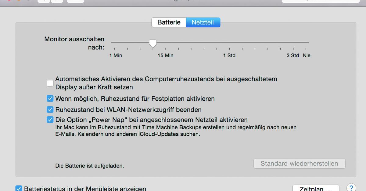 Akkulaufzeit Des MacBooks Verbessern: Diese Tipps Holen Mehr Leistung  Heraus | Mac Life