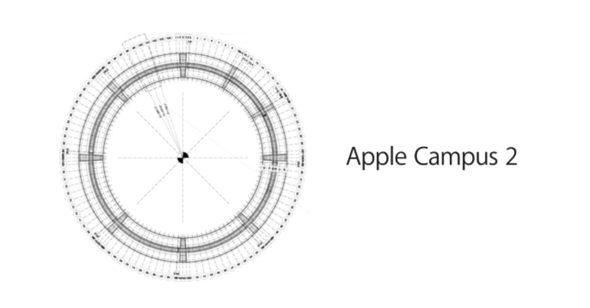Apple Campus 2: Das erste Gebäude kurz vor der