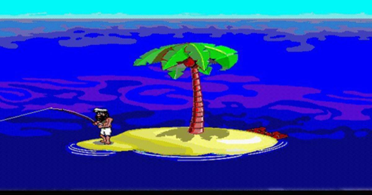 Insel Spiel überleben