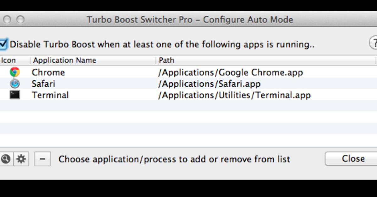 Turbo Boost Switcher - Mehr Akkulaufzeit für das MacBook Pro