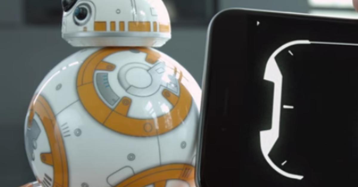 Sphero: Fernsteuerbarer Star Wars-Droid BB-8 ab heute im Apple Store - Spielzeug mit Emotionen