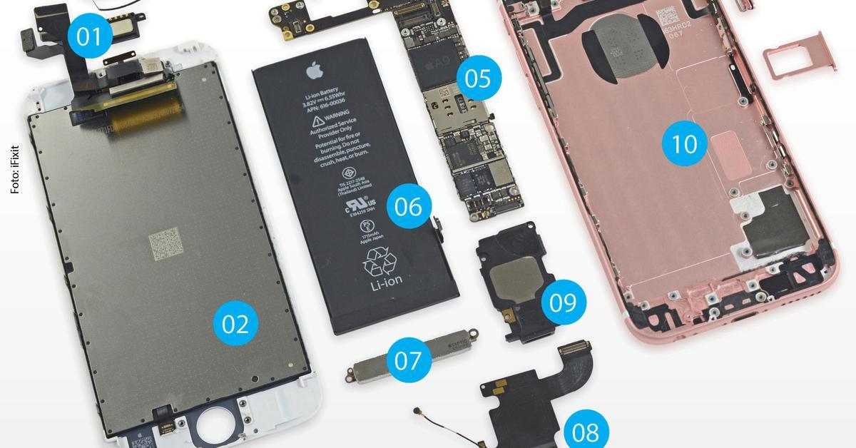 Das iPhone 6s: Der kommentierte Teardown