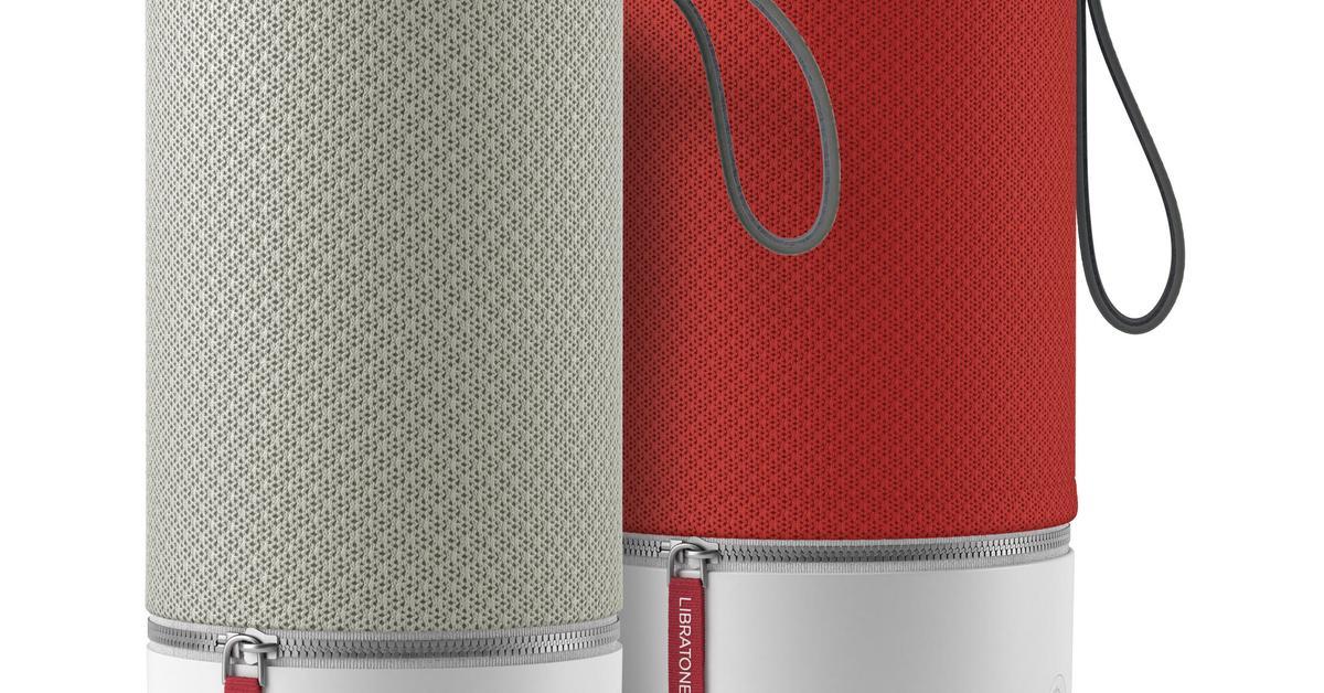 libratone zipp im test der klangzylinder zum mitnehmen mac life. Black Bedroom Furniture Sets. Home Design Ideas