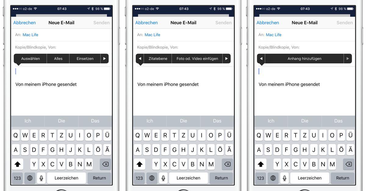 Mail Anhang via iPhone versenden: Die Schnellanleitung | Mac Life