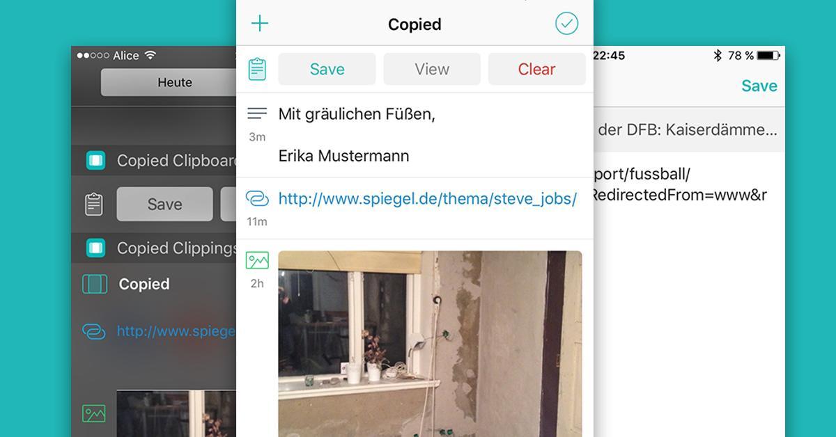 app tipp copied die zwischenablage mit system mac life. Black Bedroom Furniture Sets. Home Design Ideas