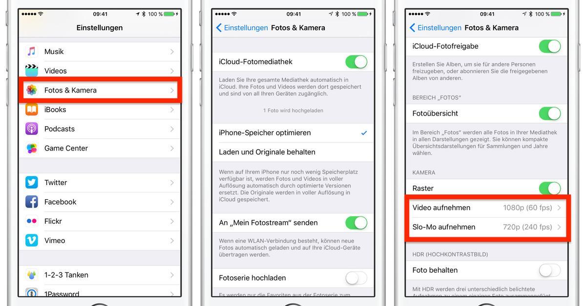iPhone Kamera Einstellungen - Fokus sperren und Helligkeit anpassen ...