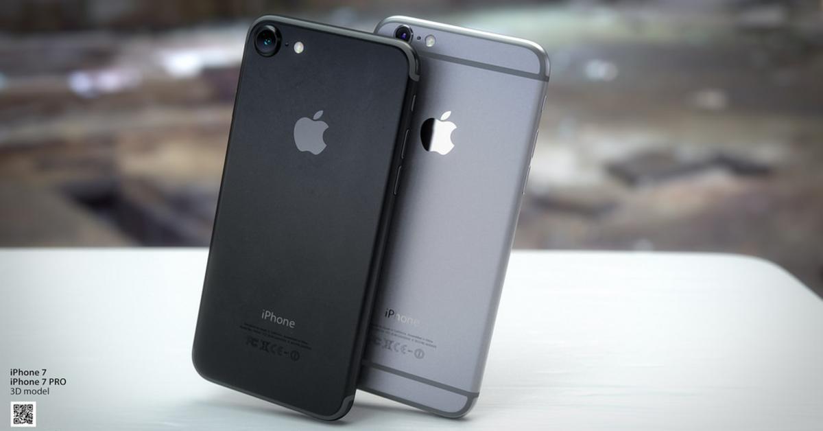 designer zeigt iphone 7 in schwarz mit earpods mac life. Black Bedroom Furniture Sets. Home Design Ideas