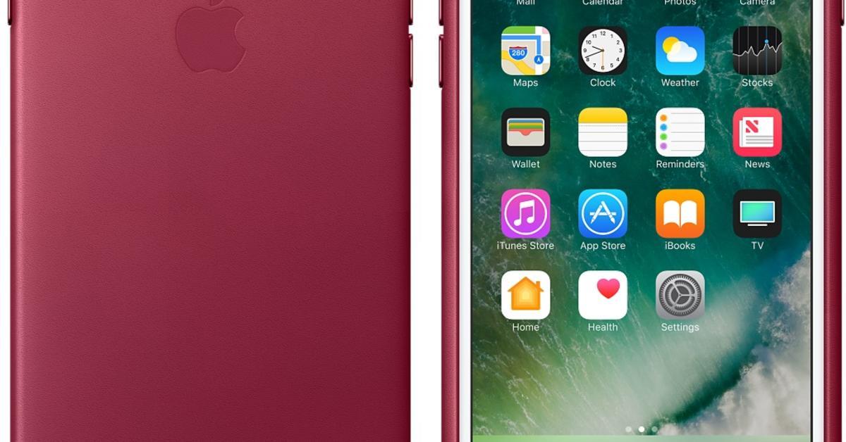 iphone 7 se silikon und leder schutzh llen in neuen farben mac life. Black Bedroom Furniture Sets. Home Design Ideas
