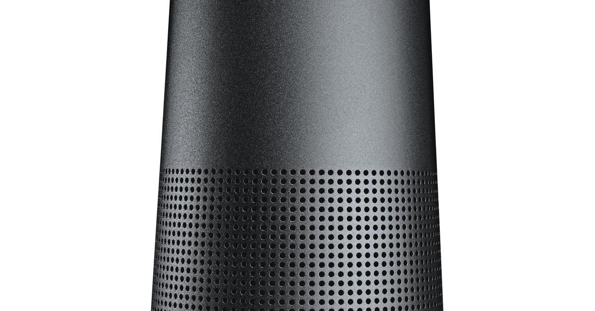 bose soundlink revolve als 360 grad lautsprecher. Black Bedroom Furniture Sets. Home Design Ideas