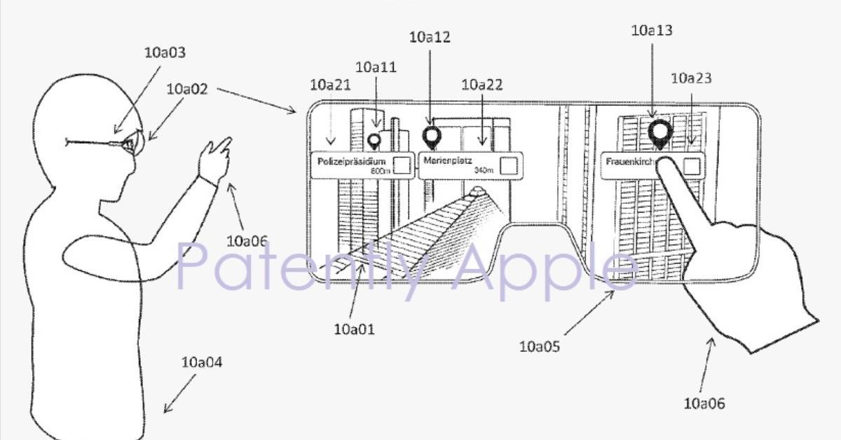 AR-Brille: So könnte eine smarte Brille von Apple aussehen