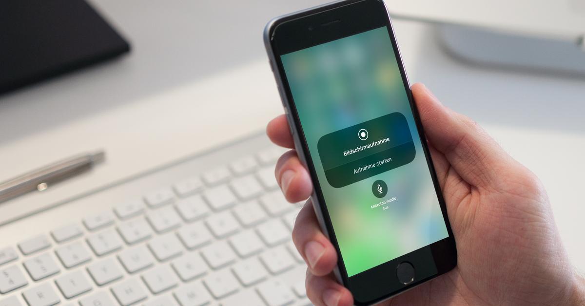 Bildschirmaufnahme Iphone