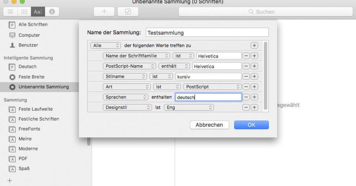 Schriftsammlung am Mac: Was kann der Wächter der Zeichen? | Mac Life