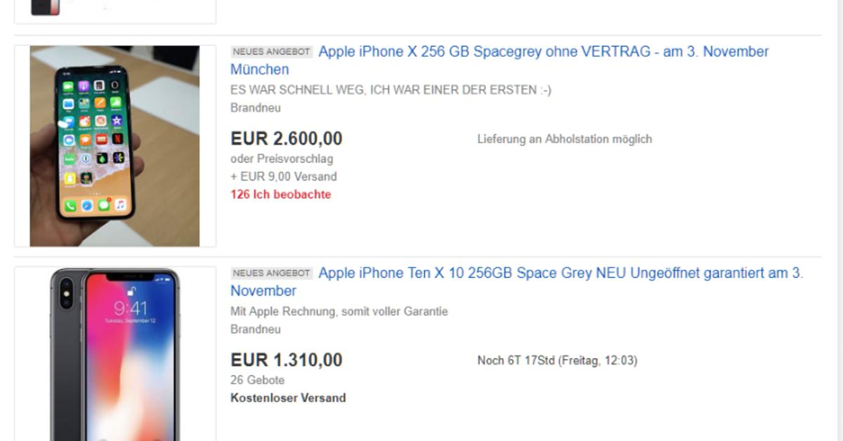 wenn das iphone x auf einmal 2700 euro kostet mac life. Black Bedroom Furniture Sets. Home Design Ideas