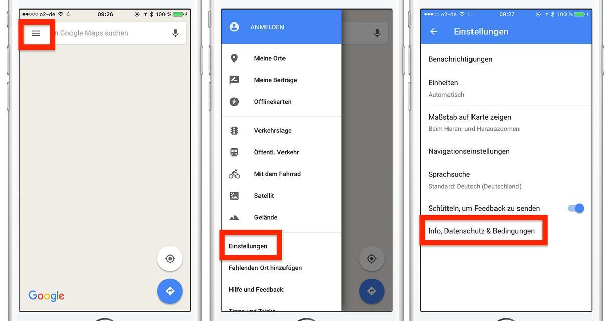 Zwischenspeicher Von Google Maps Löschen So Gehts Am Iphone Mac