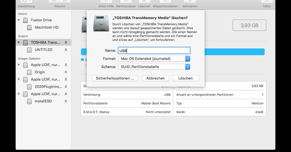 Sd Karte Formatieren Macbook.Bootfähigen Usb Stick Erstellen Für Den Mac So Geht S Mac Life