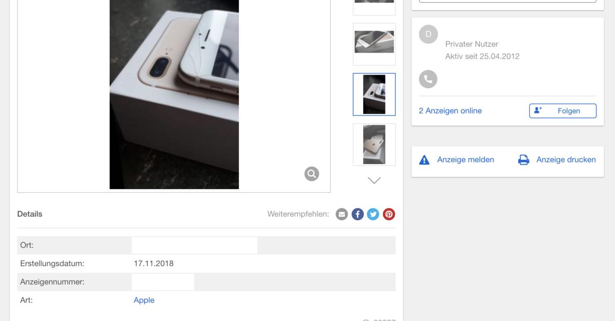 Ebay Kleinanzeigen Für Ipad