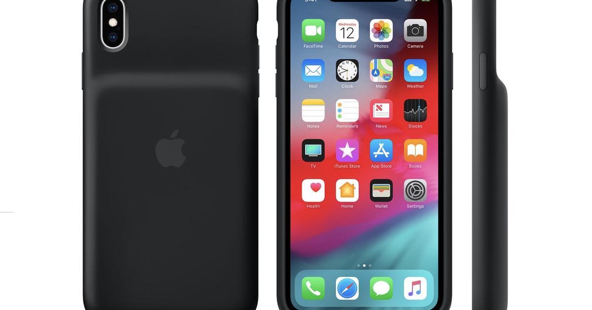 Smart-Battery-Case-passt-auf-iPhone-X-aber-