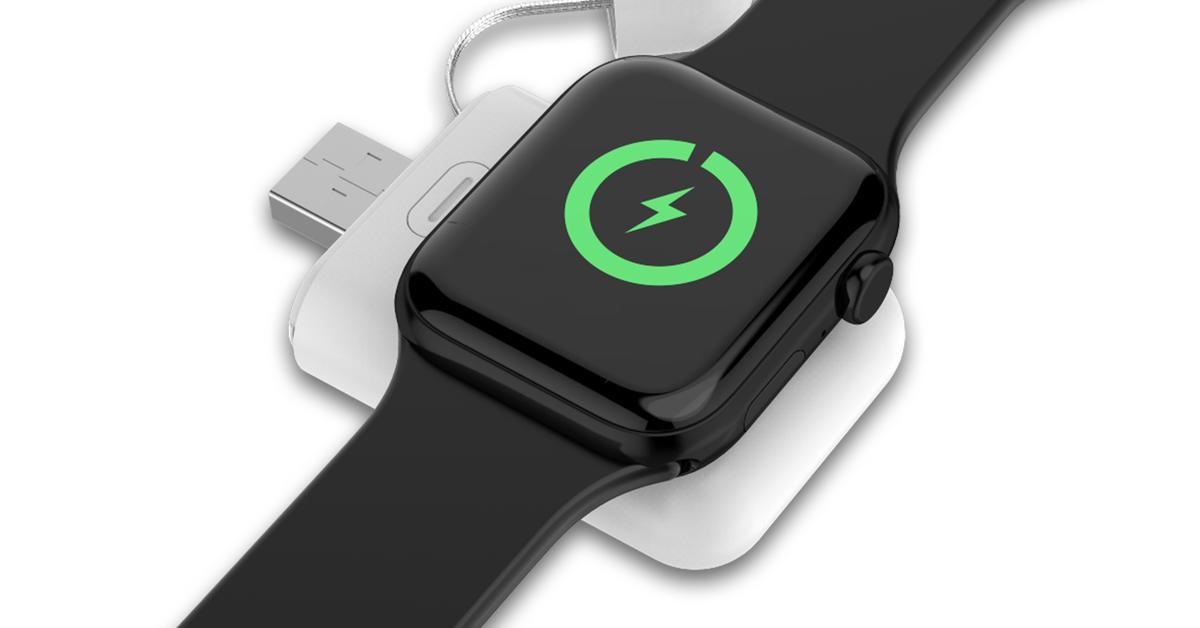 5 Euro sparen: hardwrk Charging Bank für Apple Watch 4/5 im Angebot | Mac Life