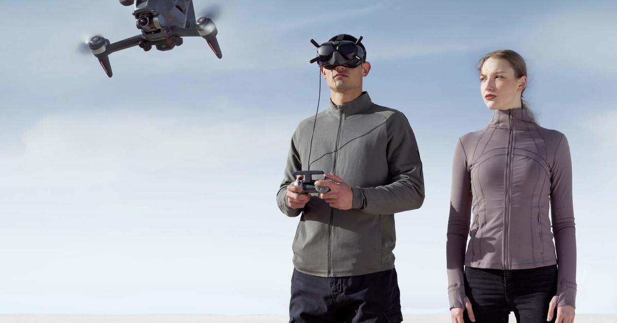 DJI setzt dich ins Cockpit einer Drohne | Mac Life