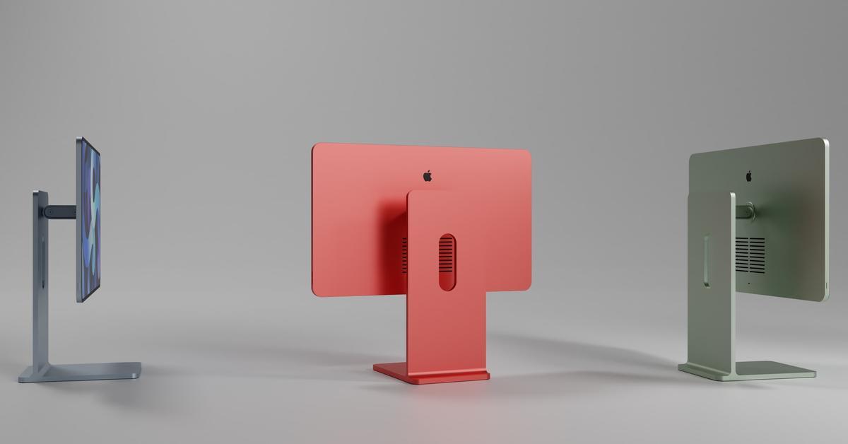 iMac 2021: Neues Design könnte an iPad erinnern ...