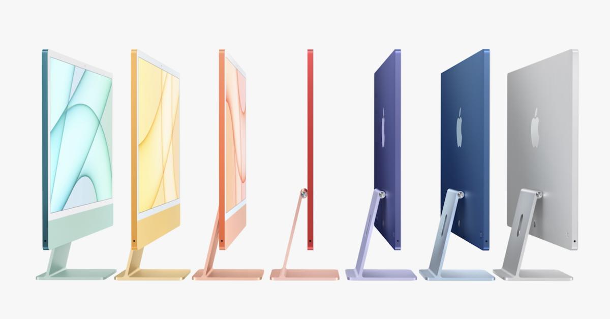 iMac 2021: Bunter Wallpaper für Mac, iPad und iPhone | Mac ...