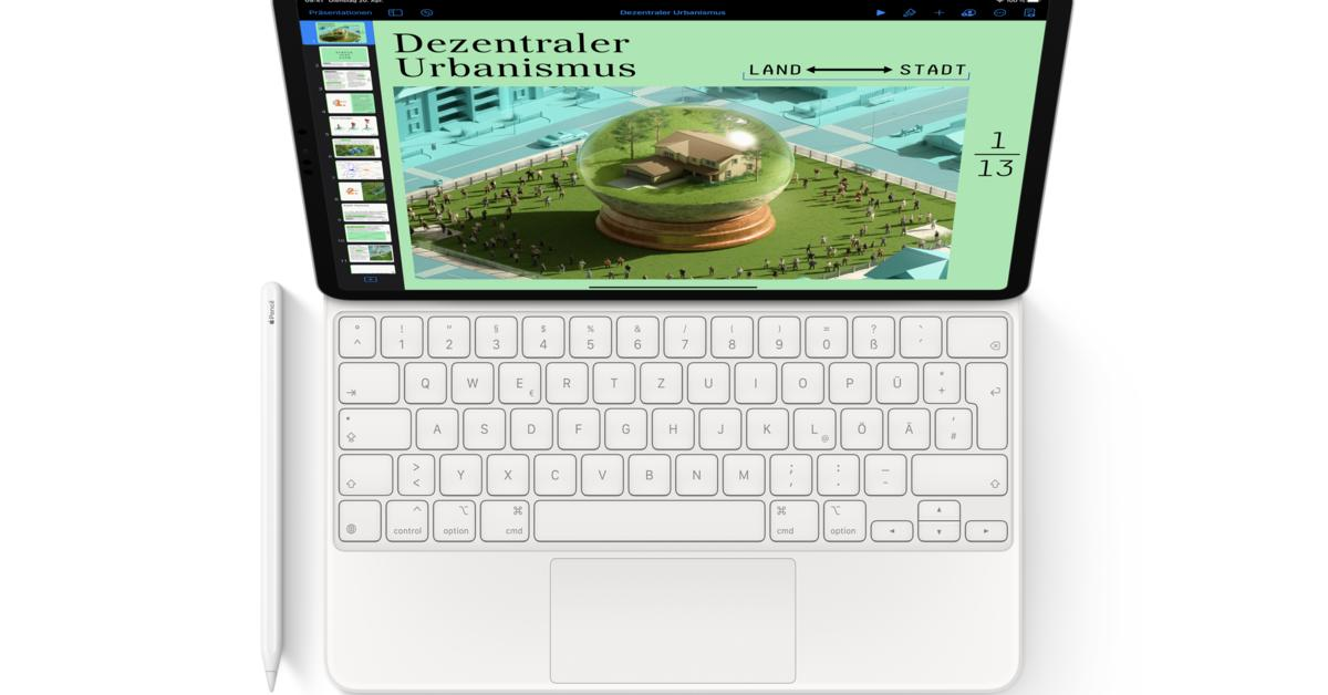 "12,9"" iPad Pro 2021 nicht kompatibel zu alten Magic ..."
