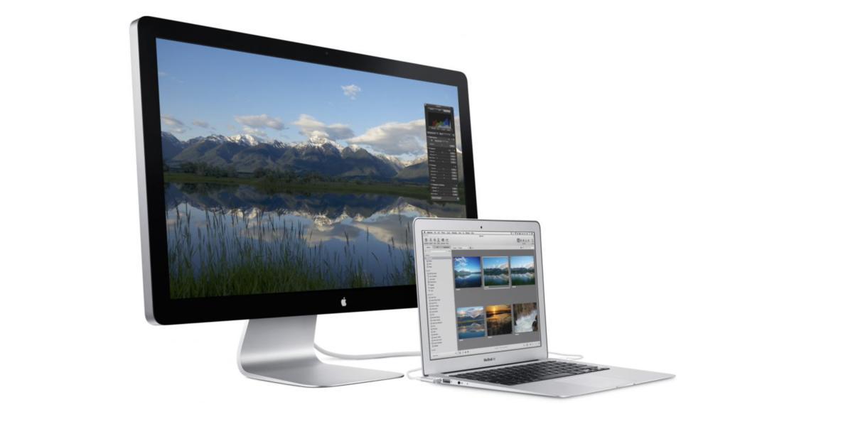 Apples Thunderbolt Display geht in Rente: Ist schon Ersatz im Anmarsch?   Mac Life
