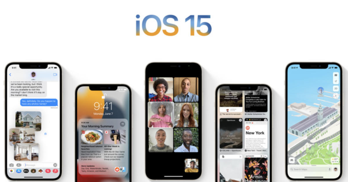 Entwicklerversion iOS 15 Beta 2 und iPadOS 15 Beta 2 sind