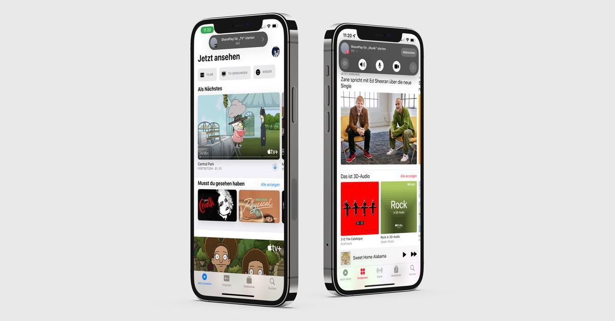 iOS 15 Beta 2: Das ist neu - SharPlay aktiviert, Outfits