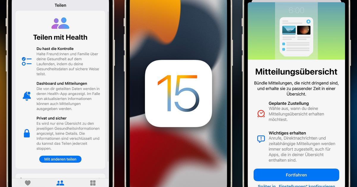Das neue iOS 15 für dein iPhone – alles, was du wissen musst!