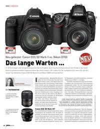 Test: Canon EOS 5D Mark II vs. Nikon D700