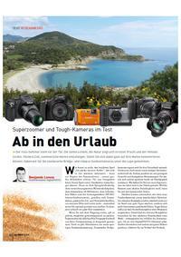 Superzoomer und Tough-Kameras im Test - Urlaubswünsche