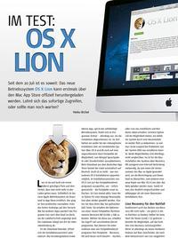 Im Test: OS X Lion