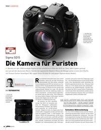 Die Kamera für Puristen: Sigma SD 15