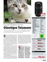Günstiger Telezoom: Canon EF-S 55-250mm