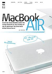 MacBook Air 2011 im Test