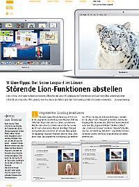 11 Tipps: Störende Lion-Funktionen abstellen
