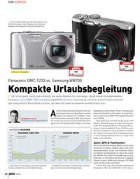 Kompakte: Panasonic DMC-TZ22 vs. Samsung WB700