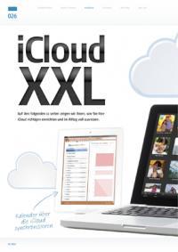 iCloud XXL: Richtig einrichten und voll ausreizen